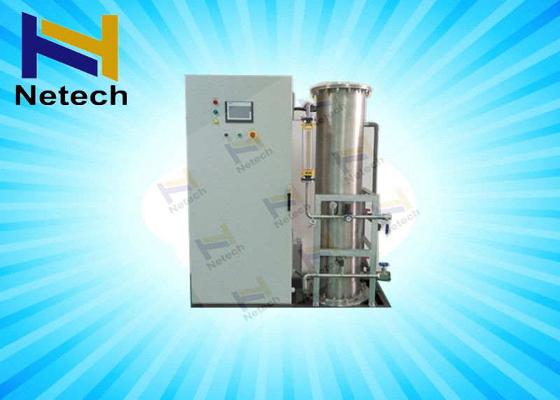 Large 1KG Glass Ozone Generator With Oxygen Concentrator System For Sewage Treatment