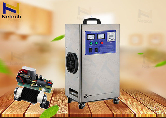 220V Ceramic Tube Industrial Ozone Generator Domestic  Feed Air Or Outside Oxygen