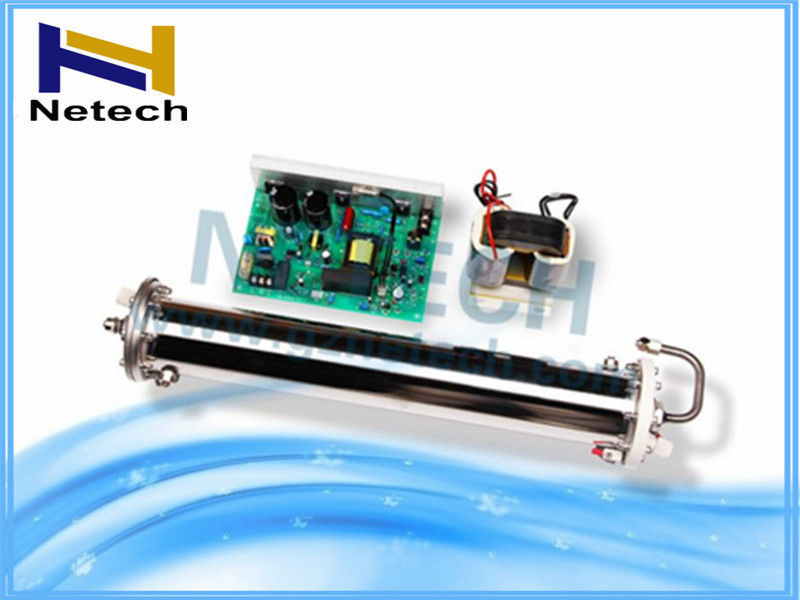 80g/Hr Water Cooling Ozone Enamel Tube With Power Board For Water Purification