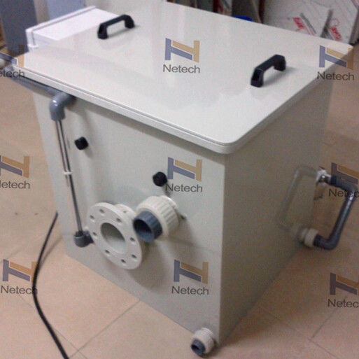 1.1KW Industrial Aquaculture Automatic Drum Filter For Raw Water Treatment