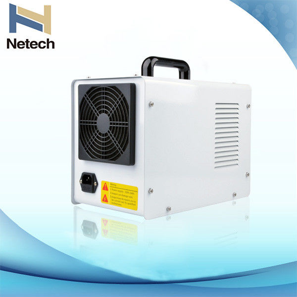 White Portable Commercial Ozone Generator , Household Ozone Generator